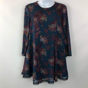 Kimchi Blue Shift Boho Dress